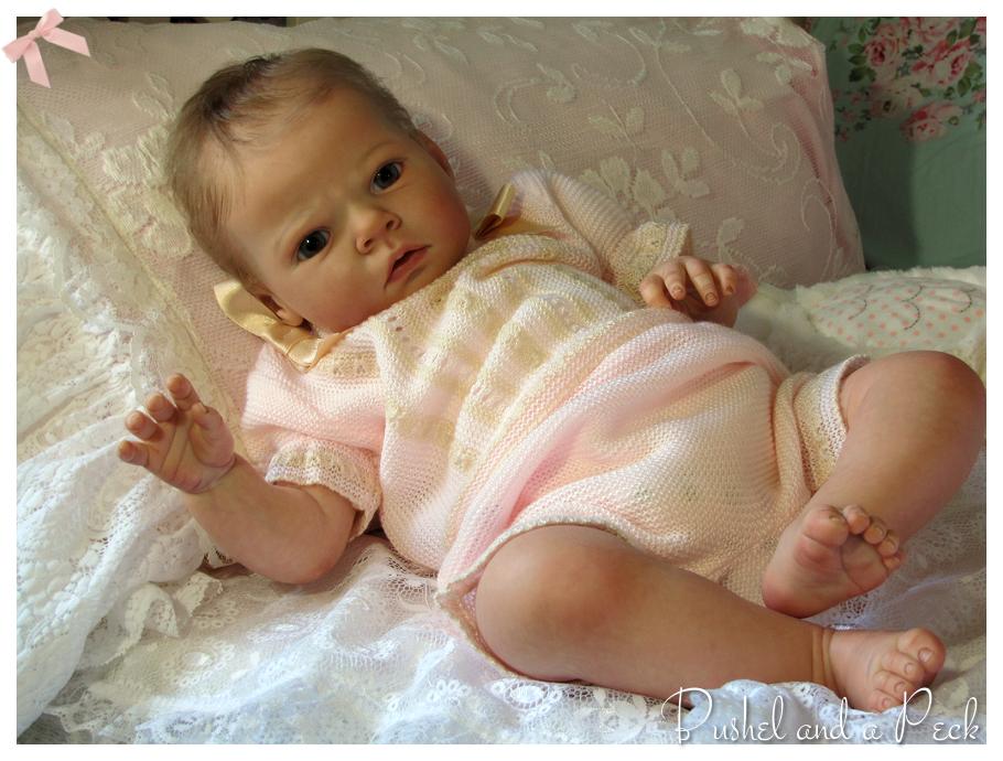 Кукла реборн сабрина