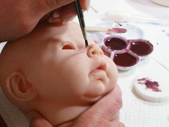 Краски для кукол реборн