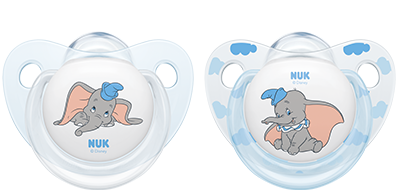 NUK Disney Classics Bambi & Dumbo Schnuller (2 Stück)