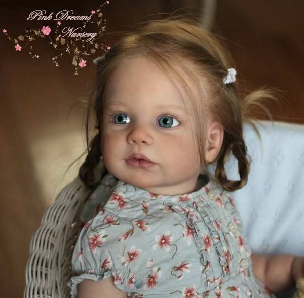 30.0 Gabriela Doll Kit (head with a groove to bind in)