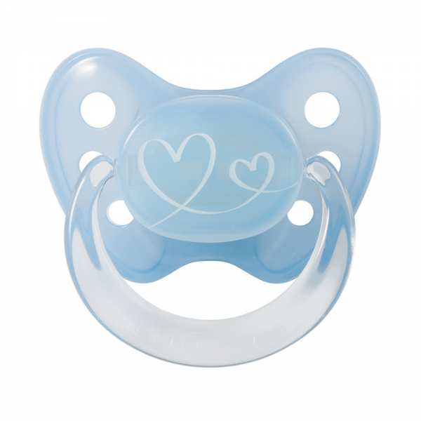 Sucette cardiaque pour bébé