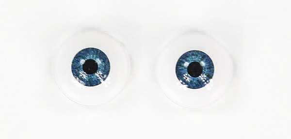 Acryl Eyes 20mm blau