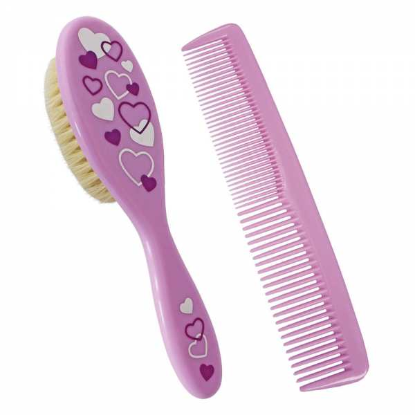 Comb with brush set