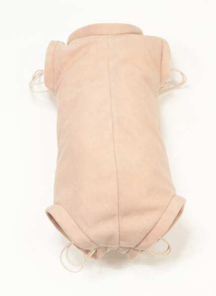 Flannel body skin for full vinyl dolls