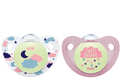 Nuk Night & Day Trendline Silicone Pacifier (2 pieces)