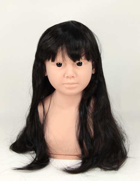 Perruque à cheveux longs