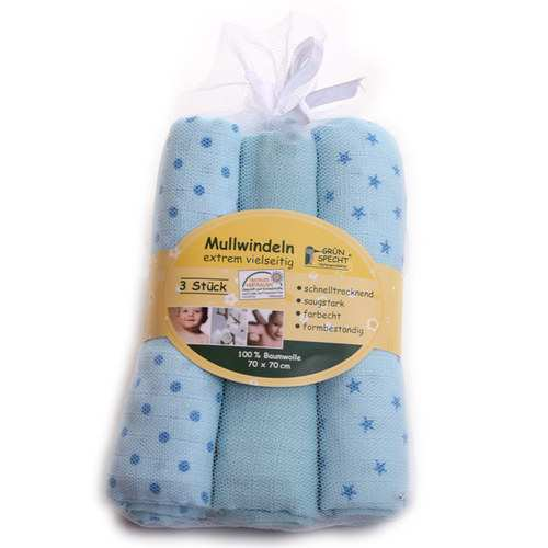 Cloth Diapers blue
