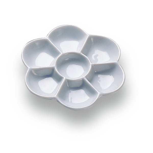 Porzellan-Farbmischpalette