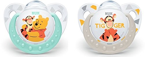 NUK Disney Winnie Silicone Pacifier 2 Pacifier 10175170