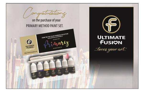 Ultimate Fusion Primary Mixing Set by Sue-Ellen Taormina