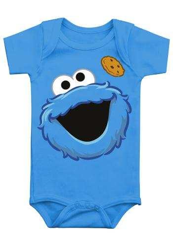 Baby Bodysuit Cookie Monster