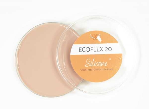 Farbtest-Muster Silikon Ecoflex 20