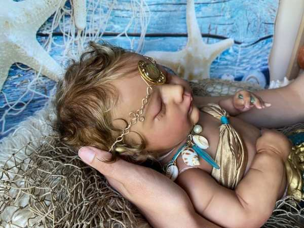 Mermaid Baby Rhynn by Wendy Dickison