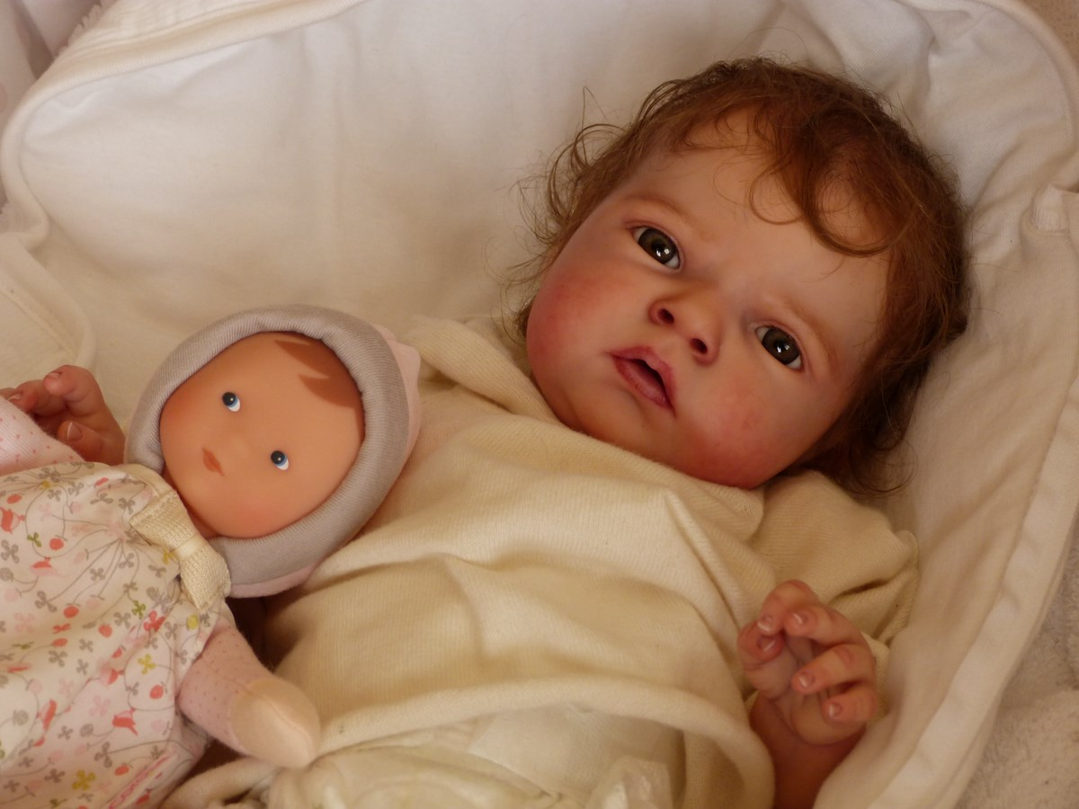 7 14 Sabrina Doll Kit Puppen Traumland 174