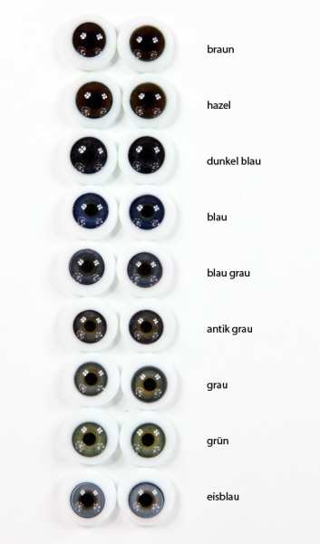 Lauschaer Designer Figure Eyes massively