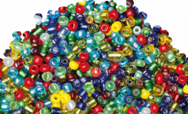 Colorful beads (Rocailles) 41842